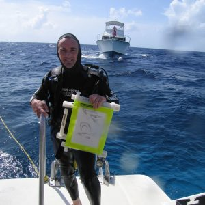 Mark Hagen inventor of aquaSketch at Dive and Draw